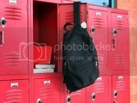 School locker.